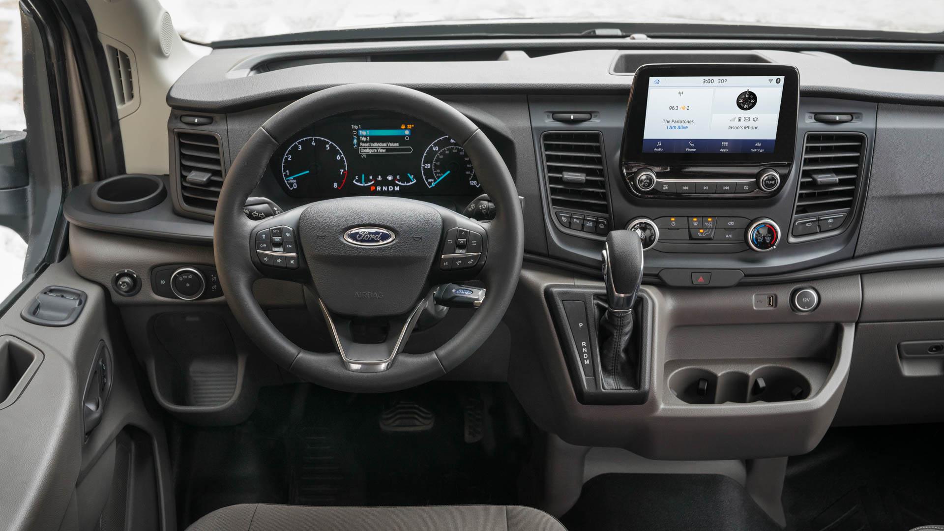 Ford Transit 2020 : Ajout De L'awd, Nouveaux Moteurs
