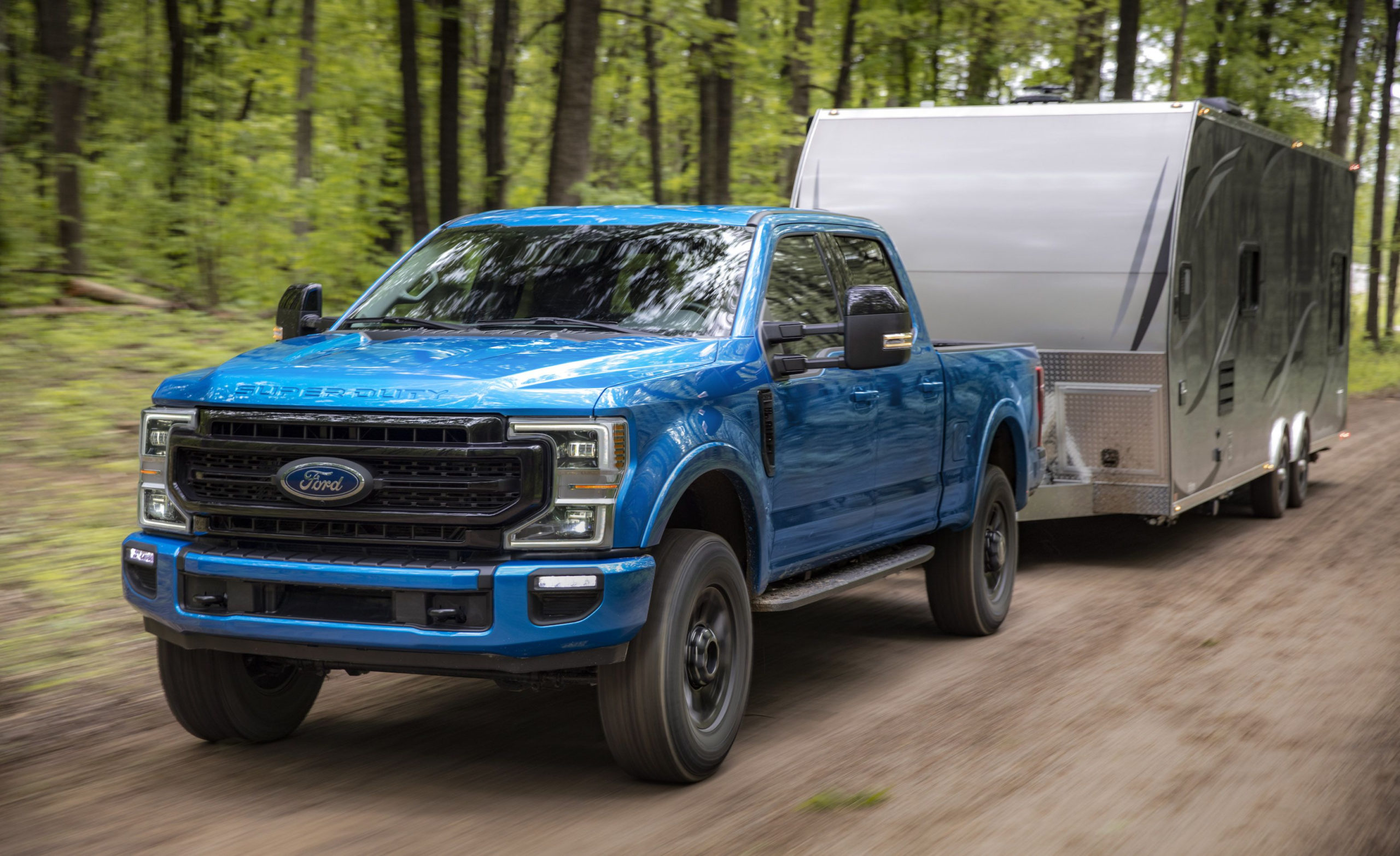 "New Ford 7.3-Liter ""godzilla"" V-8 Coming For Super Duty Lineup"