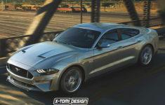 Une Mustang 4 Portes Pourrait Arriver Bientôt Sur Barilford