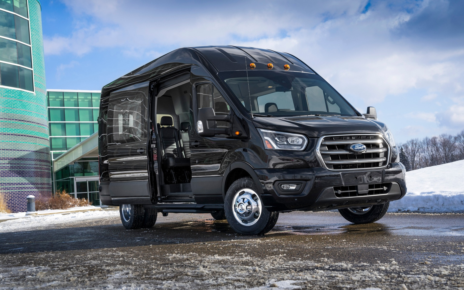 Voici Le Ford Transit 2020 - Guide Auto