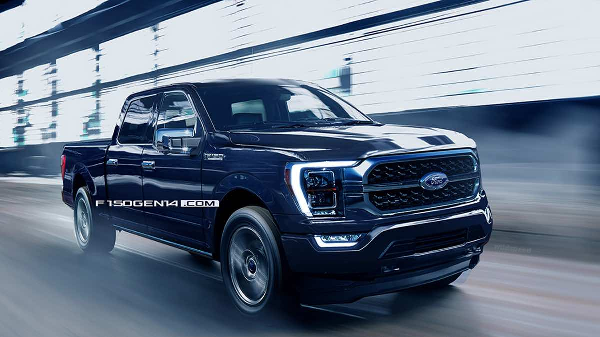 You Can Order The 2021 Ford F-150Mid-June, Production
